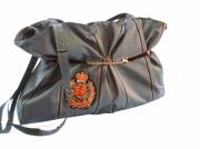 art textile mode : Sac rayé bleu roi un brin Dandy