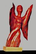 sculpture personnages ange demon aile envol : FEMME ANGE