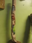 sculpture animaux sculpture animaliere sculpture sur bois totem : totem
