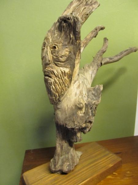 SCULPTURE sculpture bois l'esprit des ar sculpture fantastiqu Personnages Bois  - l'esprit des arbres