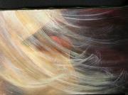 tableau personnages cheuveux dans le vent : cheveux dans le vent