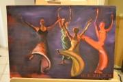 tableau autres quatres danseuse en couleur : danseuses