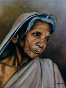 tableau personnages portrait realisme personnage : Tristesse