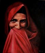 tableau personnages portrait realisme figure : Timidité