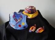 """art textile mode : 3-6 mois """"cirque"""""""