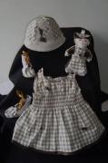 art textile mode : naissance 3 mois