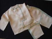art textile mode : veste et pantalon pour 2  ans