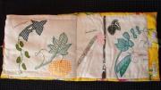 art textile mode haricots citrouille cornichons : Le Jardin Potager