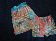 art textile mode : tunique et short 1 an- 18 mois