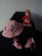 art textile mode : 3 - 6 mois (3 pièces)