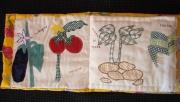 art textile mode nature morte radis jardin bebe : le Jardin Potager
