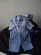 "art textile mode : ""queue de pie"" 3- 6 mois"