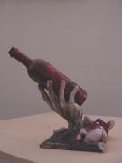 sculpture nus : Per mano di Bacco