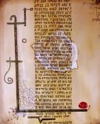 tableau autres sorciere beige parchemin lois : leges magarum