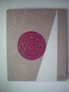 tableau abstrait marron melange abstrait contemporain : abstrait 1