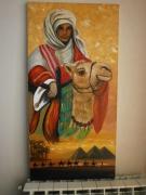 tableau pyramides oasis chameau : Le fils du désert