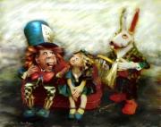 art numerique scene de genre alice chapelier lapin merveilles : Alice aux pays des merveilles