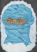 mixte personnages nomade afrique visage yeux : Nomade