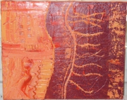 tableau abstrait design decoration petit format : 1, 2, 3 Abstraction !!