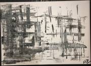 tableau abstrait : MAILLAGE