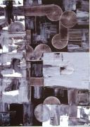 tableau abstrait : LABYRINTE