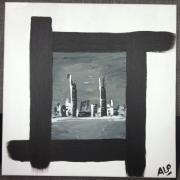 tableau abstrait : NYC