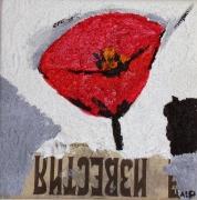 tableau fleurs : COQUELICOT RUSSE