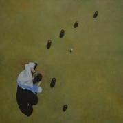 """tableau sport sport petanque australie vert : """"La quadrature du cercle"""""""