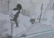 """tableau personnages gilets jaunes revolution personnages villes : """"Gilles et John sont dans un bateau, etc,etc..."""""""