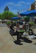 """tableau villes new york am2rique terrasses filles : """"C'est un fait, les chauves n'ont pas de pellicul"""