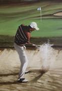 """tableau sport golf golfeur sport jeux : """"Je plaiderai non coupable"""""""