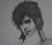 """tableau personnages prince musique dessin portrait : """"Prince, Revolution"""""""