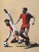 """tableau sport football sport ballon coupe du monde : """"Le tacle"""""""