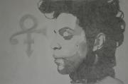 """tableau personnages prince musique dessin portrait : """"Prince, Love Symbol"""""""
