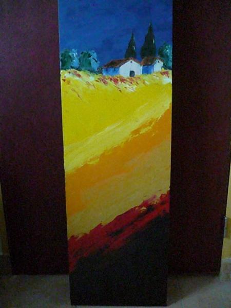 TABLEAU PEINTURE Paysages Peinture a l'huile  - jumelle