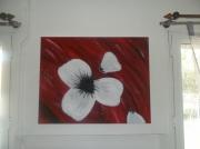 tableau fleurs fleur : pétale apres pétale