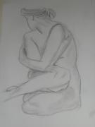 dessin nus nue femme : nue 3