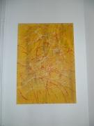 tableau abstrait fil : meli melo
