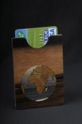 bois marqueterie autres alsace marqueterie original : Etui carte bancaire