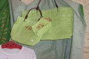 art textile mode fleurs attrayant : les trois sacs