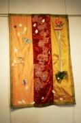 art textile mode abstrait decoratif leger attrayant original : abécédaire aux papillons