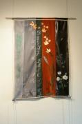 art textile mode autres decoratif original : abécédaire d' automne