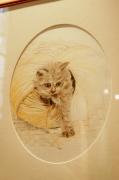 dessin animaux original vivant : portrait