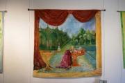 art textile mode paysages attrayant tres decoratif : l' allée du parc