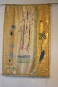 art textile mode fleurs abecedaire lumineux decoratif leger : abécédaire d' été