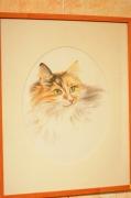 dessin animaux decoratif vivant : portrait