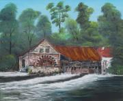 tableau paysages : Moulin de Maintenay