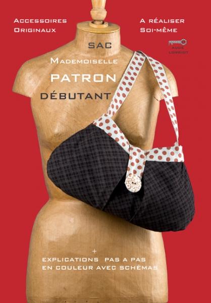 ART TEXTILE, MODE chic sac pois  - sac mademoiselle