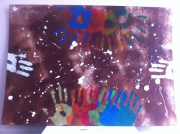 painting abstrait : m1