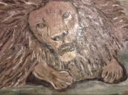 tableau animaux : lion